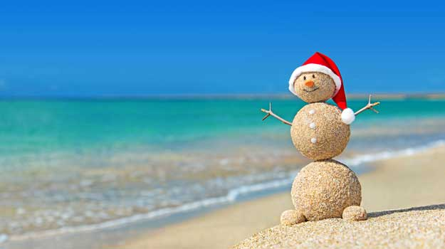 christmas on the beach - Christmas At The Beach