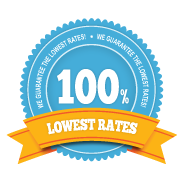 100% Lowest Rates