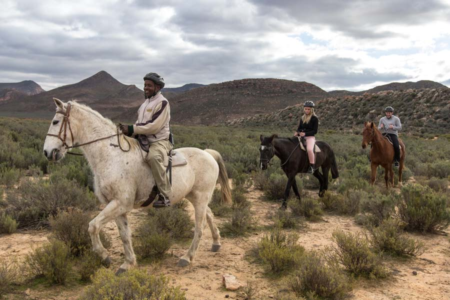 Horseback Safari Aquila in the Western Cape